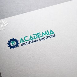 Logo Design Ideas for Academia Industrial Solutions